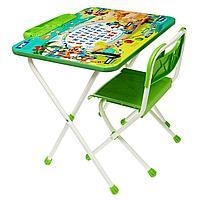 НИКА Набор мебели Микки маус (стол складн.+пенал,стул), зеленый
