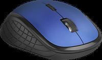 Мышь беспроводная Defender Aero MM-755 6D,1600dpi, бесшумная, синий, НОВИНКА!