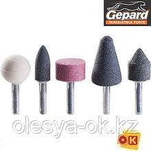 Точильные камни для дрели, 5 шт. GEPARD