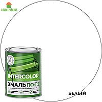 Эмаль ПФ-115 Intercolor белый 20кг