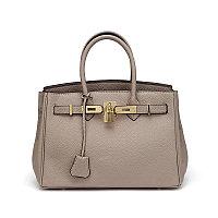 Кожаная сумка под Hermes