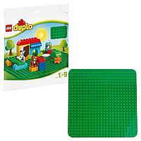 Lego Duplo большая строительная пластина зеленая 2304