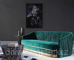 5 см, зеркальное золото - Полосы для декорирования мебели, 305 см