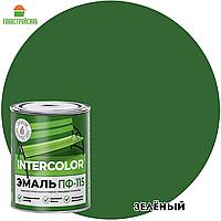 Эмаль ПФ-115 INTERCOLOR зеленый 20 кг