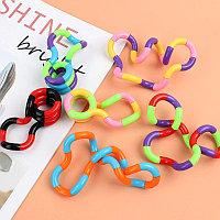 Змейка цепочка антистресс / игрушка, головоломка, цепь / антистресс Twist Tangle / спиральный антистресс