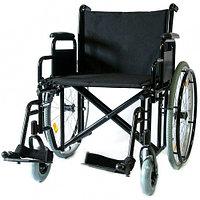 Инвалидная коляска Мега-Оптим 711AE, ткань, пневматические задние колеса 711AE пневмо, 610