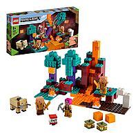 Конструктор Lego Minecraft Искаженный лес