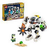 Конструктор LEGO Creator 3 в 1 Космический робот для горных работ