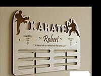 Медальница Каратэ