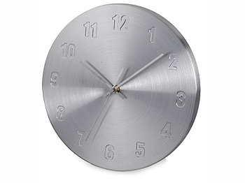 Часы настенные Тауль, серебристый