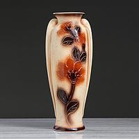 "Ваза напольная ""Ева"" под шамот, 65 см, керамика"