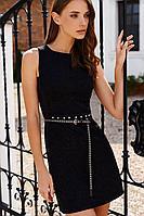 Женское осеннее черное нарядное платье Colors of PAPAYA 1332 42р.