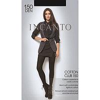 Колготки женские INCANTO Cotton Club 150 den, цвет чёрный (nero), размер 2
