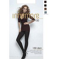 Колготки женские INNAMORE Cotton 150 XL, XXL цвет чёрный (nero), р-р 5
