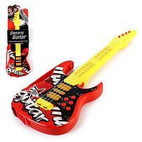 Игрушка музыкальная - гитара 'Соло', световые и звуковые эффекты, работает от батареек