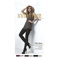 Колготки женские INNAMORE Microfibra 100 den, цвет чёрный (nero), размер 3