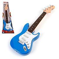Игрушка музыкальная 'Рок гитара', звуковые эффекты, цвета МИКС