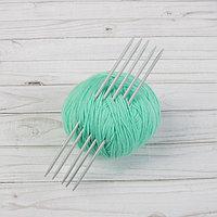 Спицы для вязания, чулочные, d 3,75 мм, 20 см, 5 шт