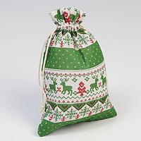 Мешок подарочный 'Новогодний сюрприз', 16 x 23 см (комплект из 5 шт.)