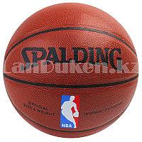 Мяч баскетбольный кожаный Spalding