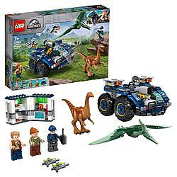 Lego Побег галлимима и птеранодона Jurassic World