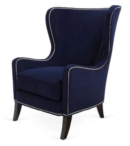 Кресла из бархатной ткани
