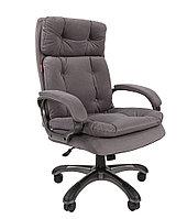Кресло офисное для руководителя CHAIRMAN 442 ТКАНЬ (в наличии синий, чёрный)