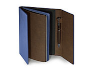 Ежедневник недатированный с магнитным клапаном, А5 WALTZ, синий, фото 2