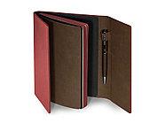 Ежедневник недатированный с магнитным клапаном, А5 WALTZ, бордовый, фото 2