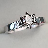 Золотое кольцо с бриллиантами 0,45Сt VVS1/N VG-Cut