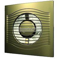 Вентилятор осевой вытяжной с обратным клапаном Д100 SLIM 4C