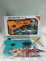 Пистолет катапульта с летающими самолетами Air Battle.