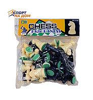 Шахматы пластиковые с мягкой доской 30Х30 см