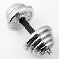 Гантель разборная 7,5 кг хром(пара 15 кг)GRR15