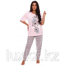 Пижама Гибискус розовый