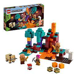 Lego 21168 Minecraft Искажённый лес