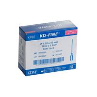 Игла инъекционная 29G 0,33*12 KD-Fine №100 900741 | КДМ, Без НДС