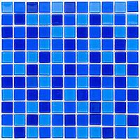 Мозаика стеклянная Aquaviva Сristall Jamaika темная DCM301