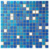 Мозаика стеклянная Aquaviva Cuba Dark