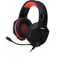 SVEN AP-G988MV Игровые стереонаушники с микрофоном черный-красный