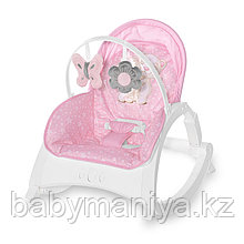 Стульчик-качалка Lorelli Enjoy Розовый / Pink HUG 2158