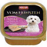 Animonda 150г с курицей, яйцом и ветчиной Консервы для собак Vom Feinsten