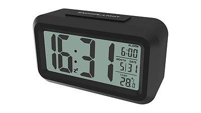 Alarm Clock Ritmix CAT-100, black