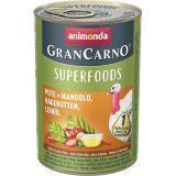 Animonda 400г с индейкой, мангольдом, шиповником и льняным маслом Консервы для взрослых собак GranСarno
