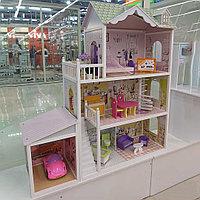 Кукольный дом Edufun с мебелью 123 см EF4108