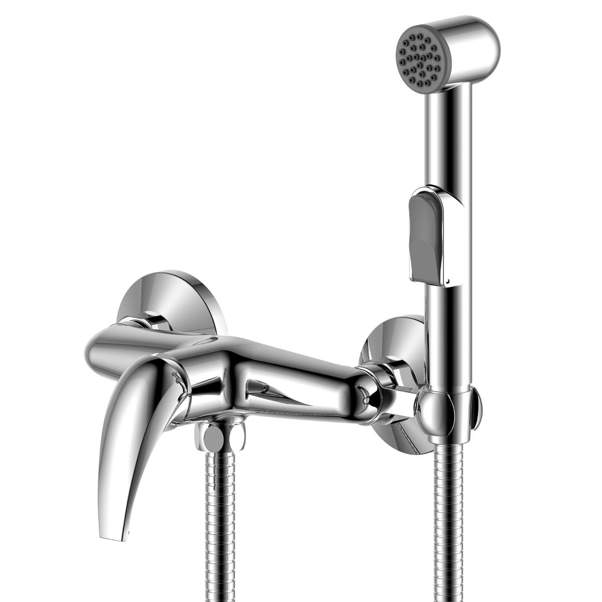 Смеситель Rossinka Silvermix Y25-52 с гигиеническим душем