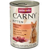 Animonda 400г с говядиной, телятиной и курицей Консервы для котят Carny Kitten - Baby Pate