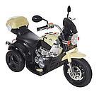 Детский электромотоцикл PITUSO MD-1188, 90х43х54 см, Black-beige /Черно-Бежевый