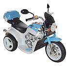 Детский электромотоцикл PITUSO MD-1188, 90х43х54 см, White-blue / Бело-Голубой