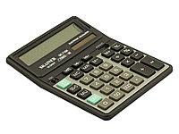 """Калькулятор настольный SKAINER """"716II"""" (16 разрядный, Black)"""